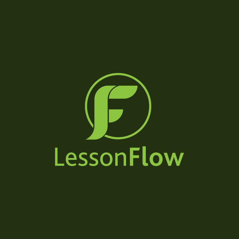 LessonFlow Logo design